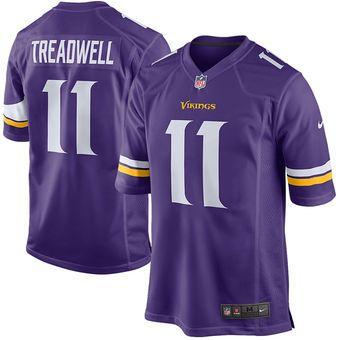 Nike Laquon Treadwell Minnesota Vikings Purple Game Jersey #vikings #nfl #minnesota