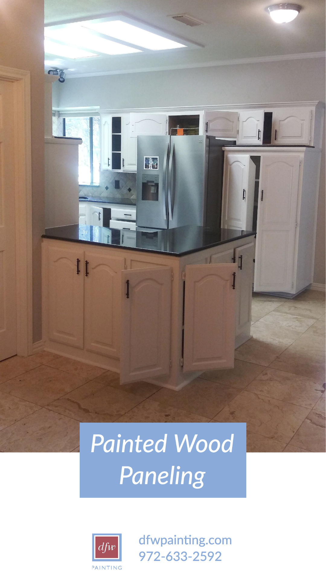Updating Your Kitchen By Painting The Cabinets Dfw Painting In 2020 Refinishing Cabinets Refinish Kitchen Cabinets Refinished