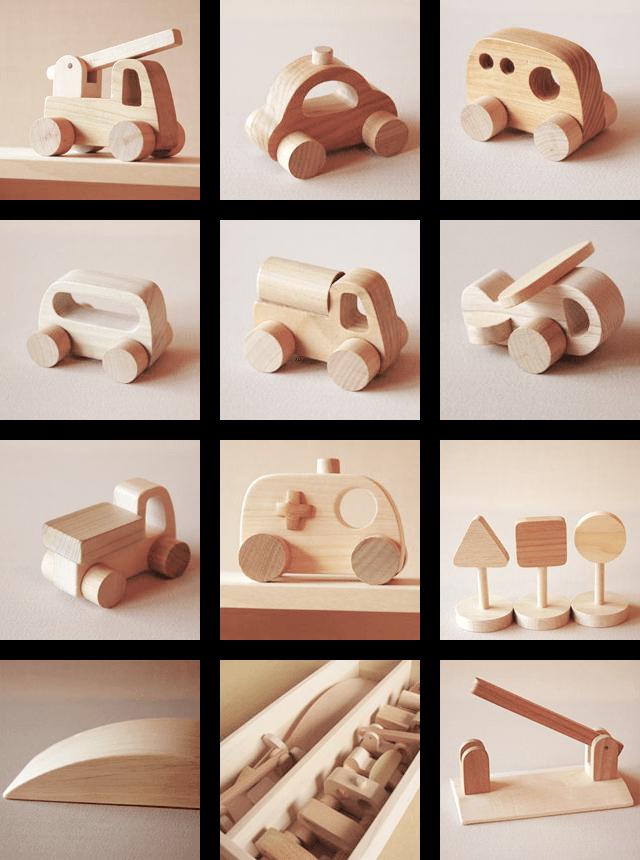車セット 乗り物遊び なかよしライブラリー Wood Toys Diy Woodworking Toys Wood Toys