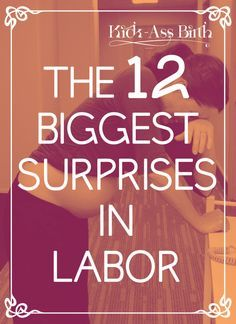 """This doula has seen the looks on new parents faces, """"I didn't expect THIS!"""". Find out what the biggest surprises are. And sign up for more free resources! - kickassbirth.com"""