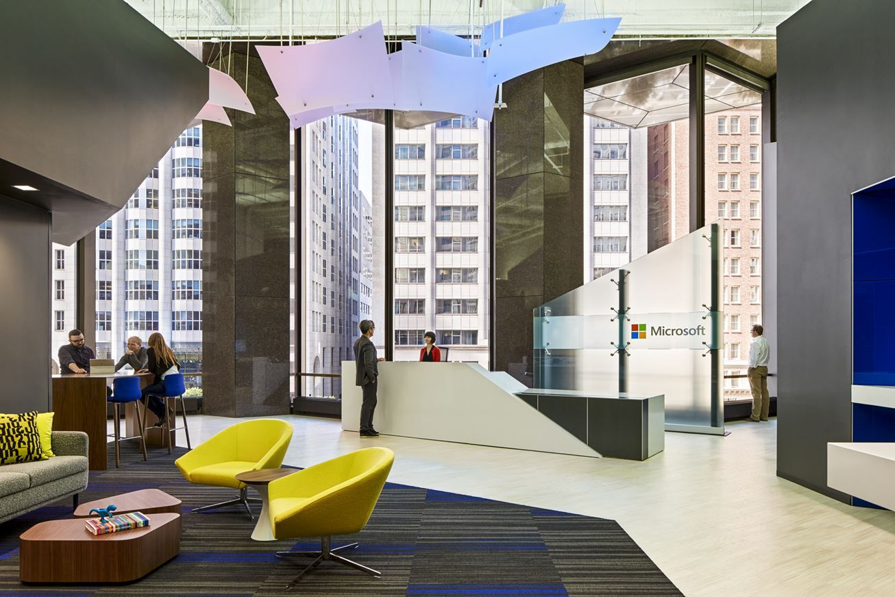 Microsoft San Francisco Office - Picture gallery