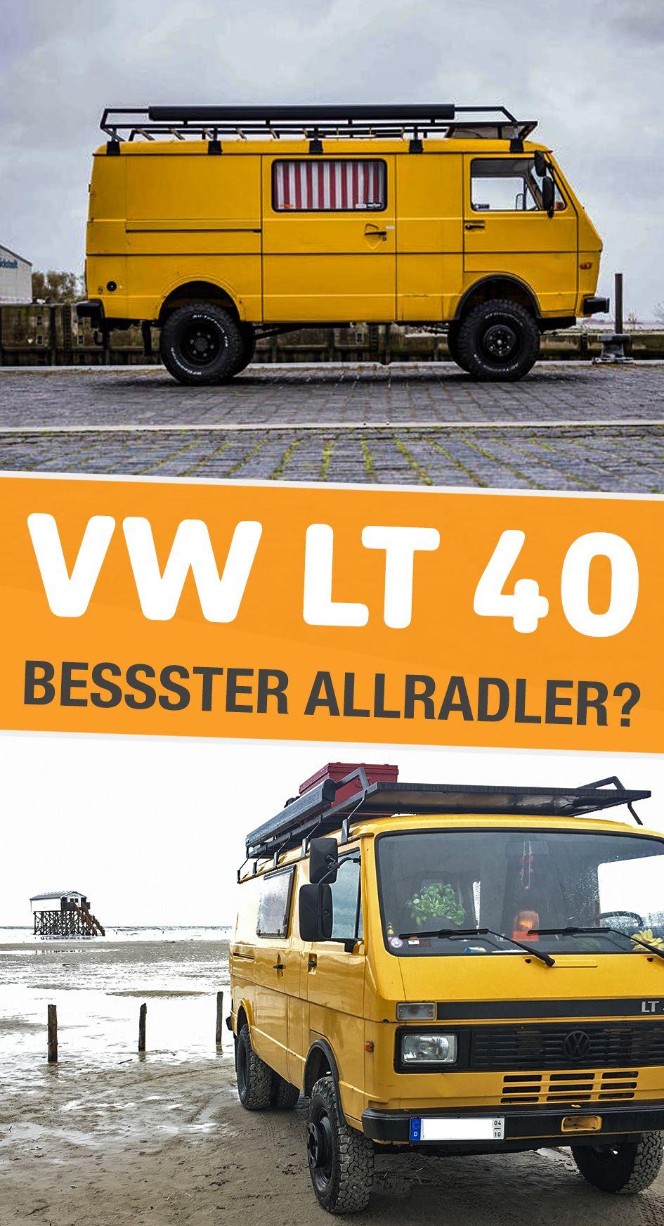 Vw Lt 40 Kein Allradfahrzeug Aber Viel Bodenfreiheit Vw Lt Vw Lt Camper Und Camper Kaufen
