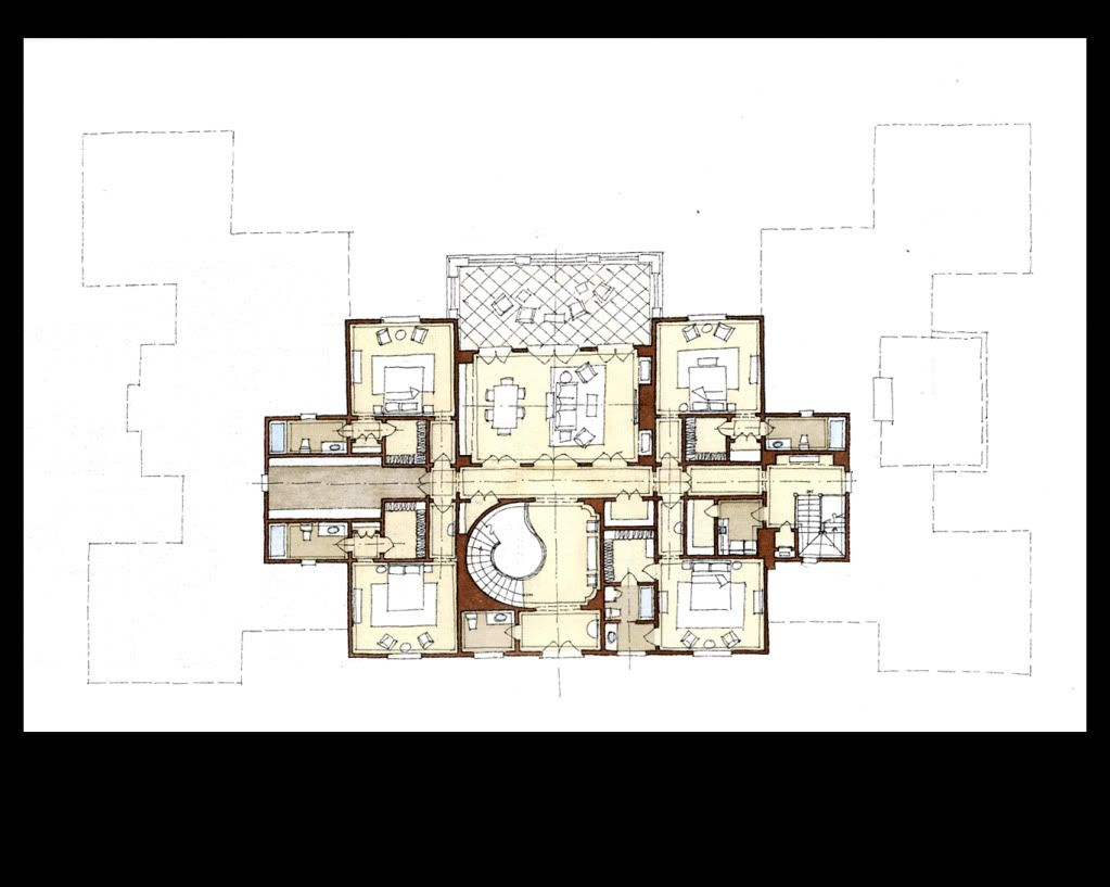 Stephen Fuller Designs Anglo Palladian Villa Drawings Architectural Floor Plans Luxury House Plans House Floor Plans