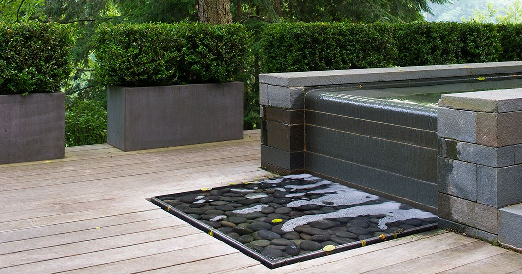 Stephen Stimson Associates Woodland Residence Small House Landscaping Water Features In The Garden Garden Landscape Design