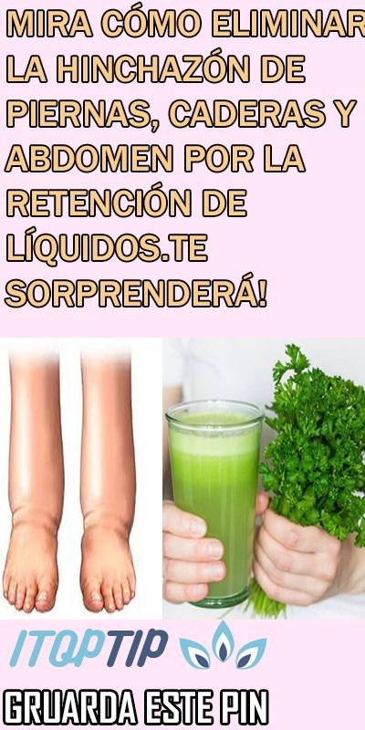 retencion de liquidos en el estomago remedios