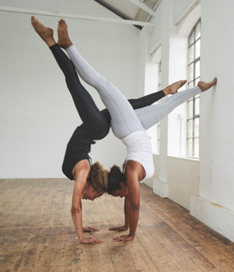 our goto tight for all things yoga in a jacquard fabric
