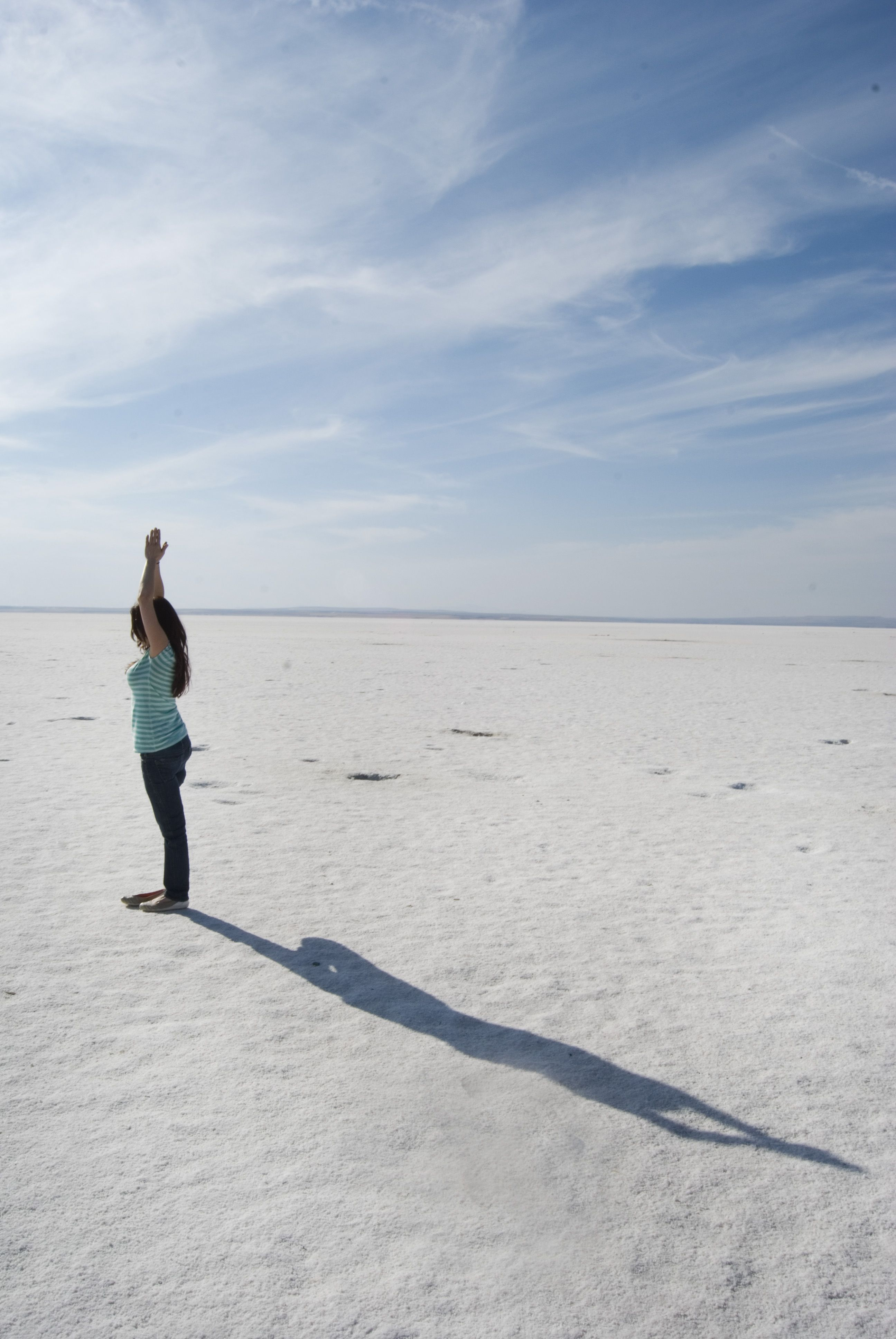 exploring the salt lake in Turkey! #travel