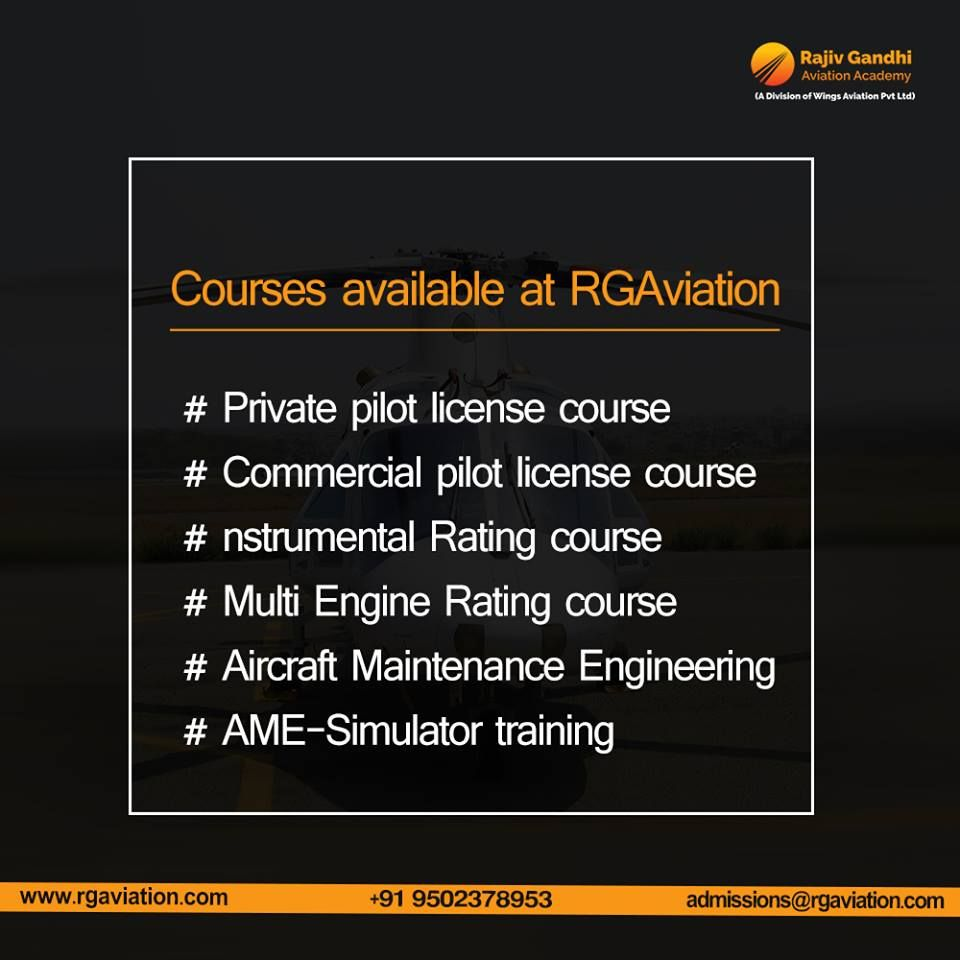 Get trained in a different division of aviation from an