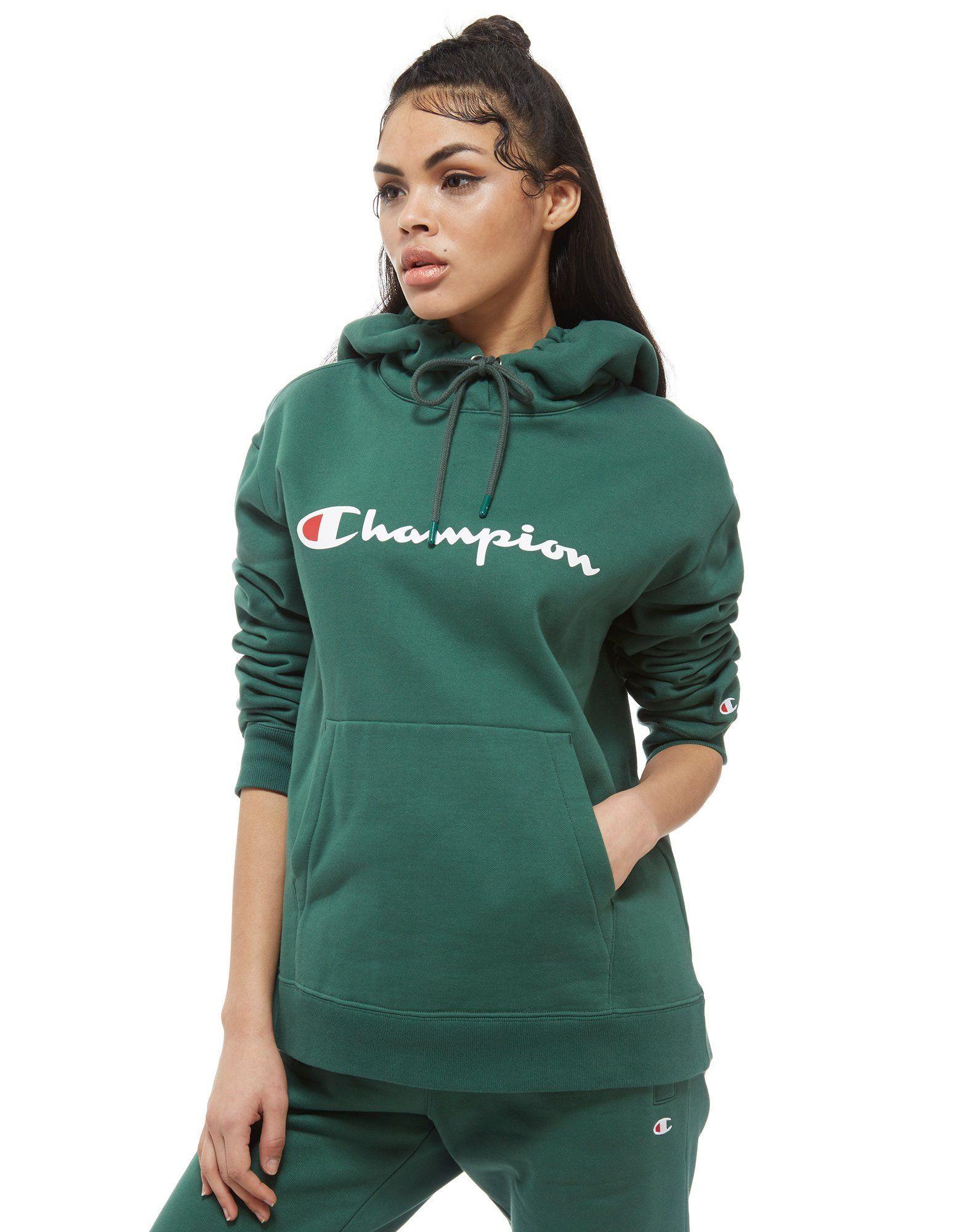 Champion Script Logo Boyfriend Hoodie Dames – Online winkelen Champion  Script Logo Boyfriend Hoodie Dames bij 04708b5efad2