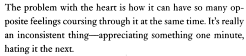 the problem with the heart