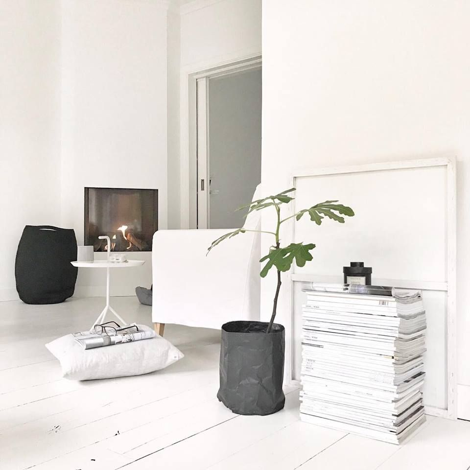 Binnenkijken bij Anja sfeerimpressie woonkamer open haard | Licht en ...