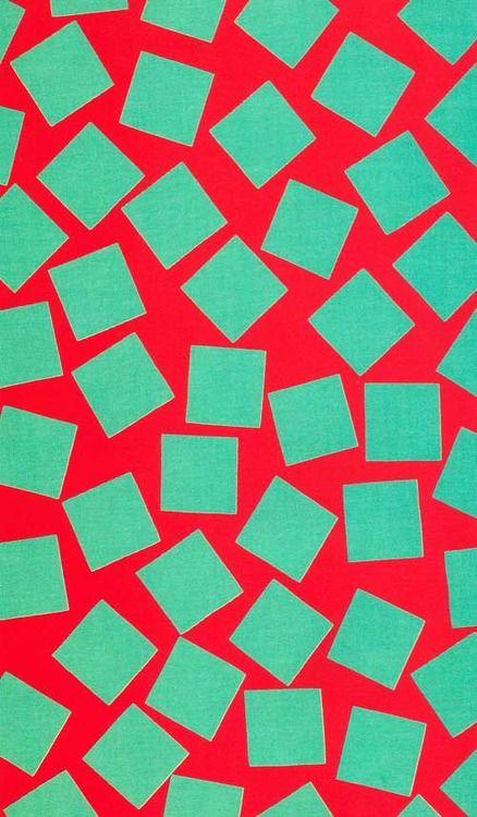 George Sowden Quadrato Fabric For Memphis 1983 Graphic