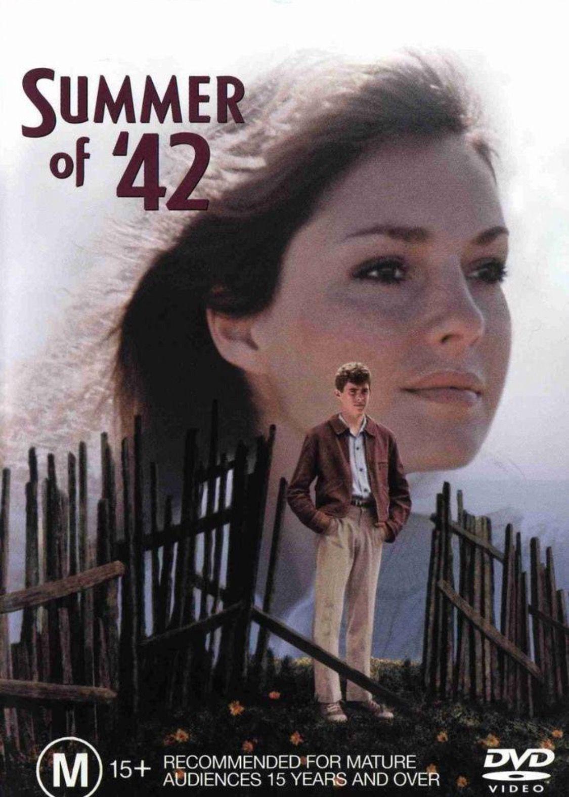 Summer Of 42 Great Movie Remember It Well 42 Movie Jennifer O Neill Summer