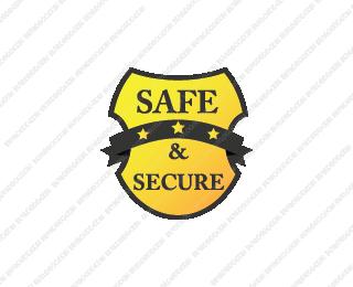 Safe And Secure Logo Design Logo Design Security Buy Logo