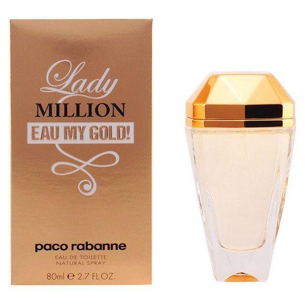Parfum Femme Lady Million Eau My Gold Paco Rabanne Edt Pinterest