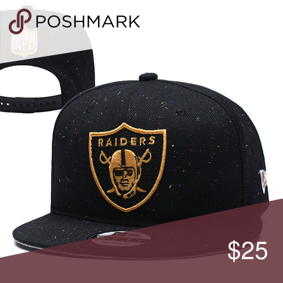 794736f8 Raiders Gold/Black Edition Adjustable Accessories Hats | My Posh ...
