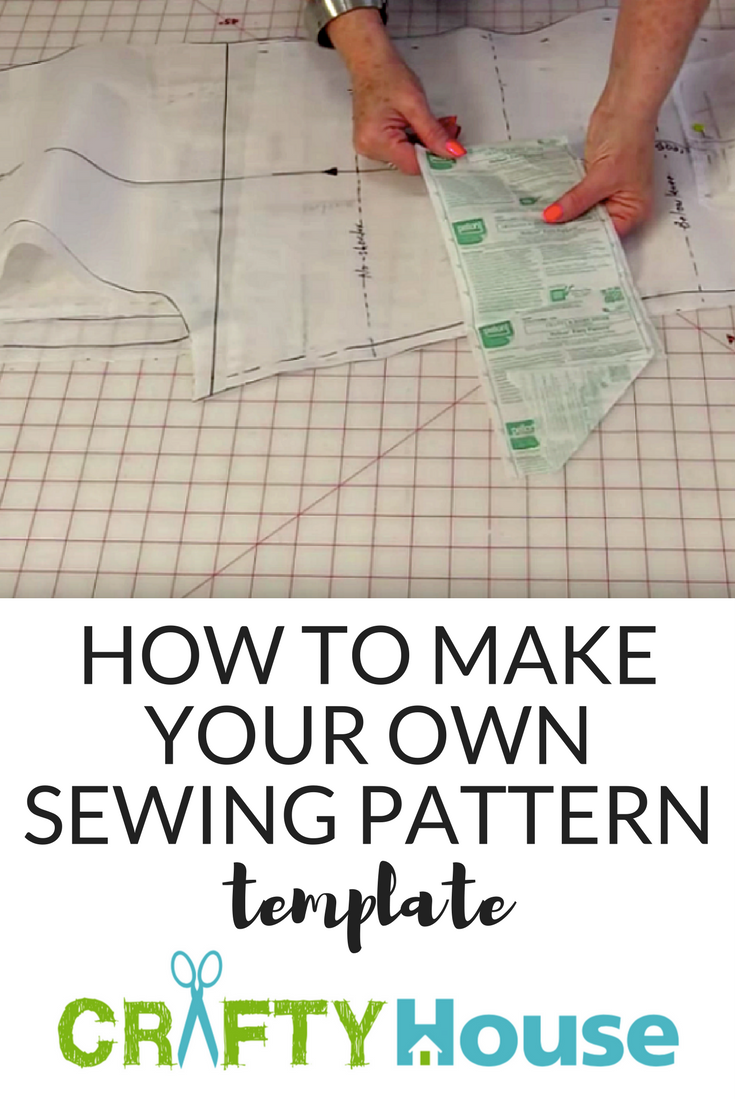Using a Thin Fabric, She Makes a Template She Can Use Over and Over ...