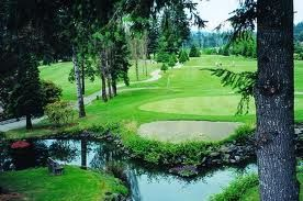Sequoia Springs Golf Course, Campbell River BC, Vancouver Island, Canada