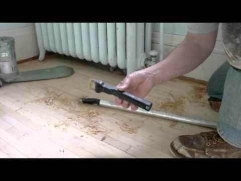 How To Refinish Wood Floors Under Radiator With Modified Zipwall Pole Refinish Wood Floors Refinishing Floors Sanding Wood Floors