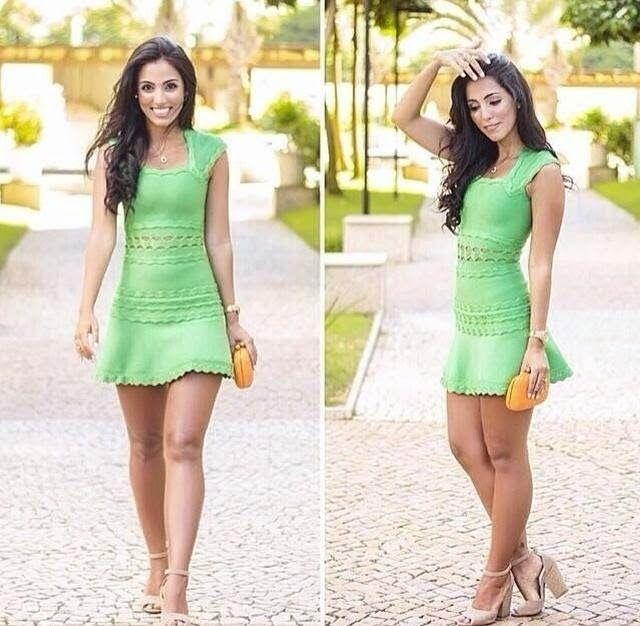 Fotos de vestidos simples mais bonitos