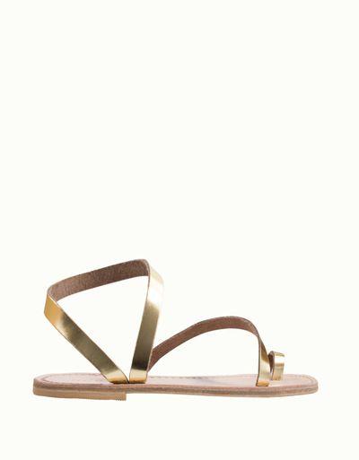 shoes Metallic Monterosso Leather Lanapo Gold Sandals sandals OSXq4yBx4w