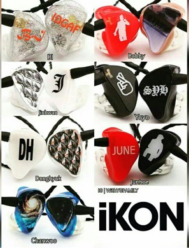 Complete Ikon Members In Ear Monitor Produk Aksesoris Gambar