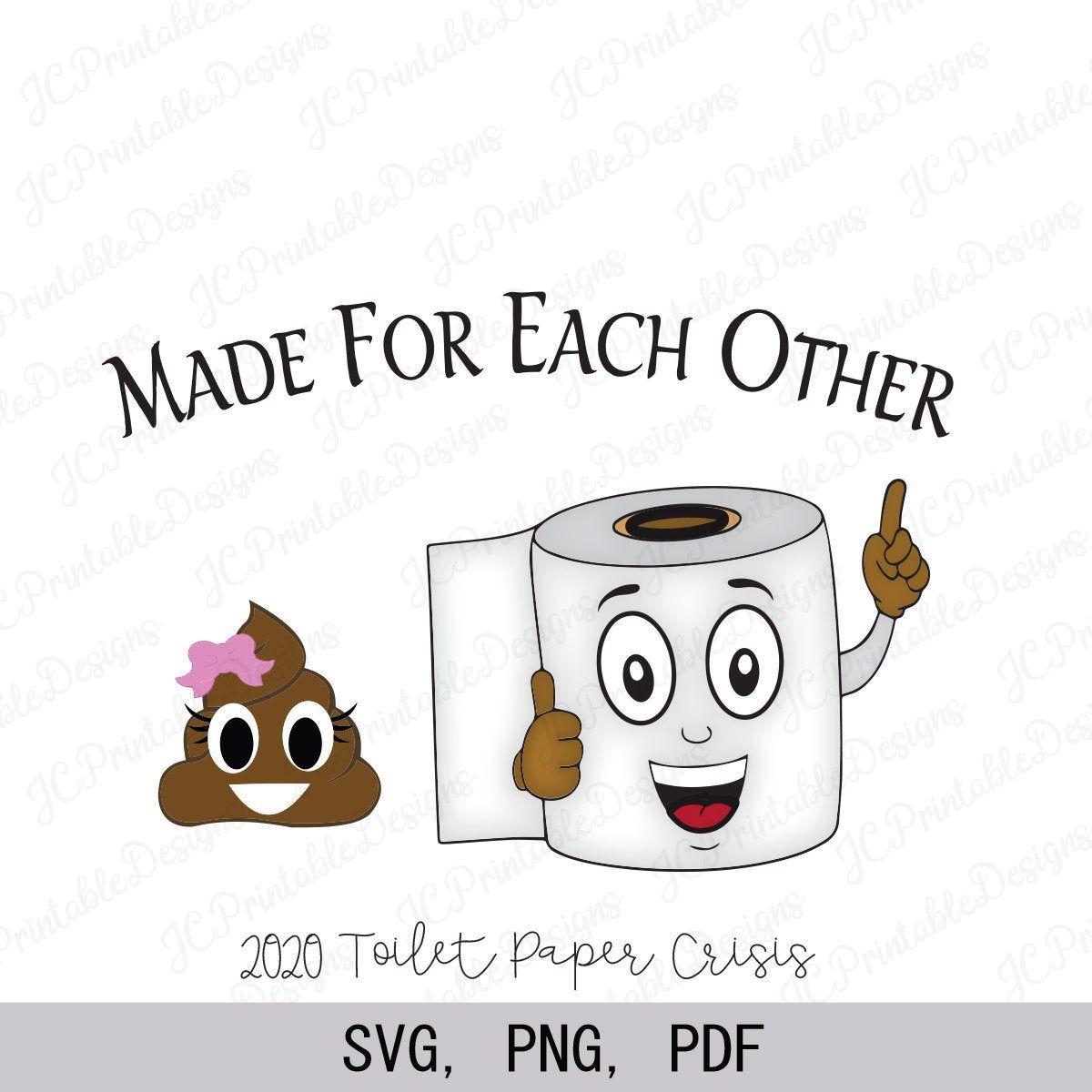 Toilet Paper Clipart, Toilet Paper SVG, Toilet Paper
