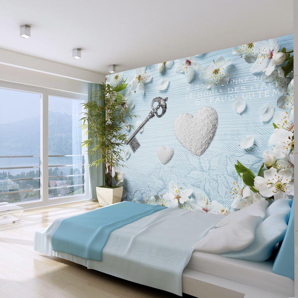 Wall Mural Spring Key In 2020 3d Wallpaper Mural Room Decor Home Decor