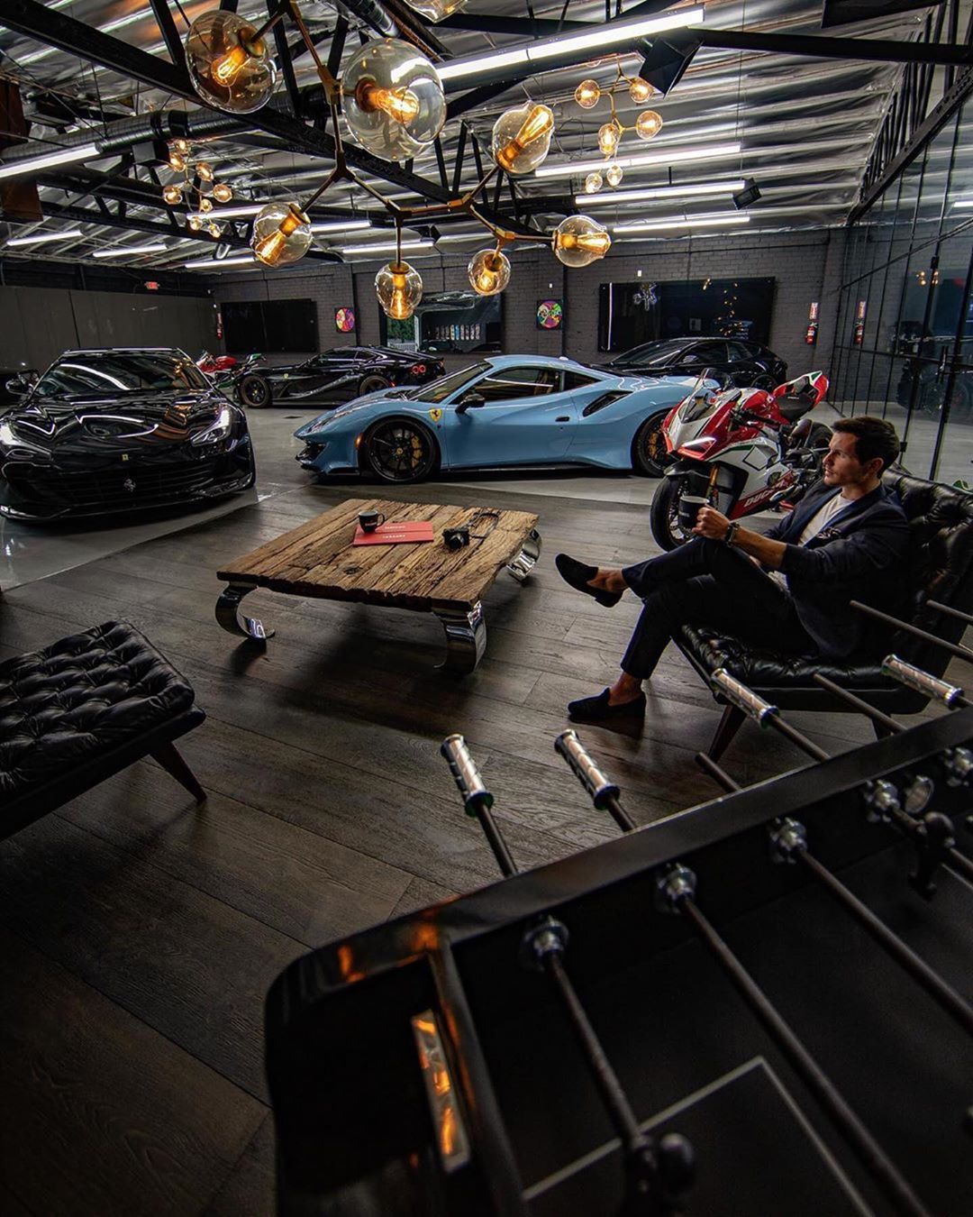 Mathias Toft On Instagram My Man Tomclaeren In The Man Cave Uvway22 A Private Supercar Collection Studio In In 2020 Garage Design Luxury Garage Garage Style