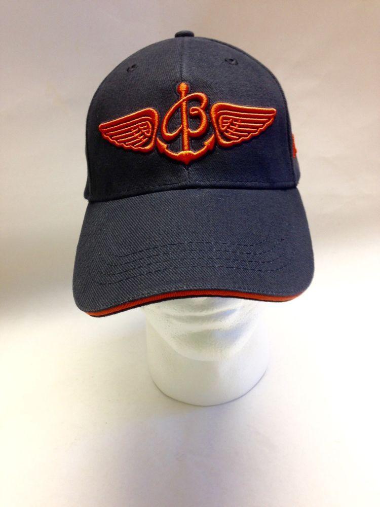 Breitling Swiss Chronographs Baseball Hat Luxury Watch Blue Orange Cap  Wings  Breitling  BaseballCap 2682643b1155