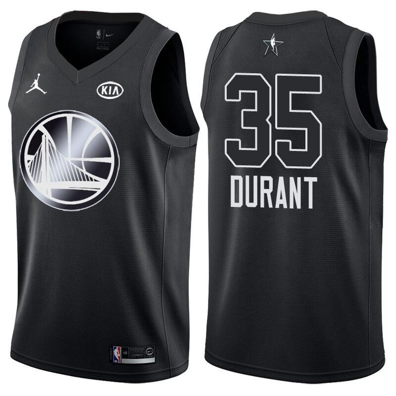 2018 All Star Game jersey  35 Kevin Durant Black jersey  3f862b365