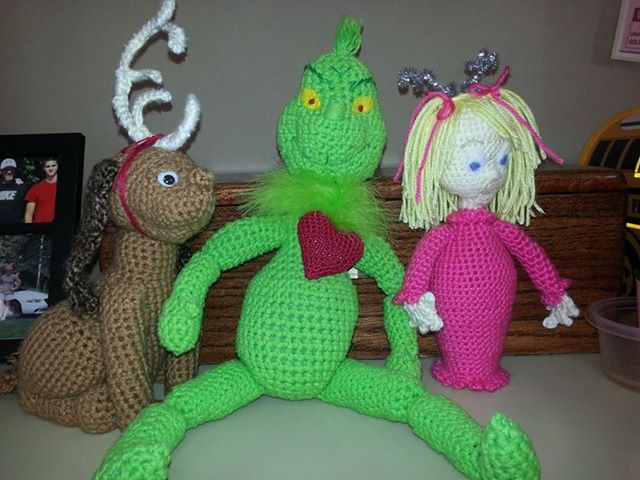 Free Crochet Grinch Inspired Doll Pattern - Full Walkthrough ... | 480x640