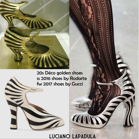 gucci fw 2017 shoes pumps ballet rodarte 20s art deco luciano lapadula wordpress. ore on my blog. Just Click the pic.    #fashion #fashionhistory #storiadellamoda #museodellamoda  #storiadelcostume #lucianolapadula #lerariolapadula   #storicodellamoda #perioddress