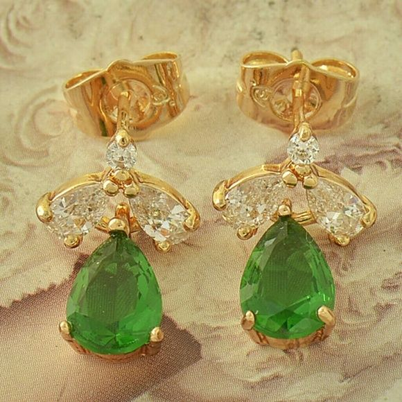 9k yellow gold filled earrings 9k yellow gold filled earrings Accessories