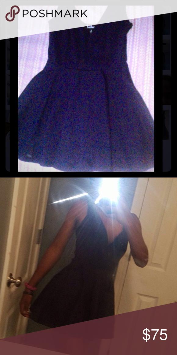 Dunkelblaues kurzes Kleid Super süß und großartig für einen Schultanz …   – Easytattoo