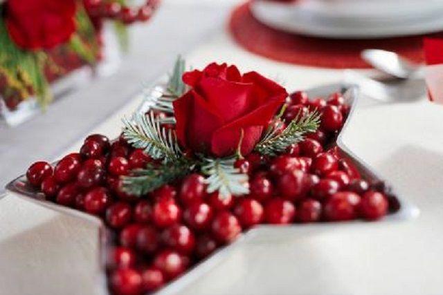Decorare Tavola Natale Fai Da Te : Tra le idee per le decorazioni di natale i centro tavola natalizi