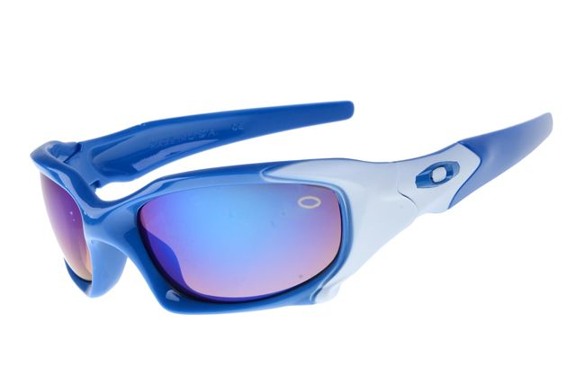 f06cf273f1 Oakley Pit Boss Deep Blue White Frame Colorful Lens 2020