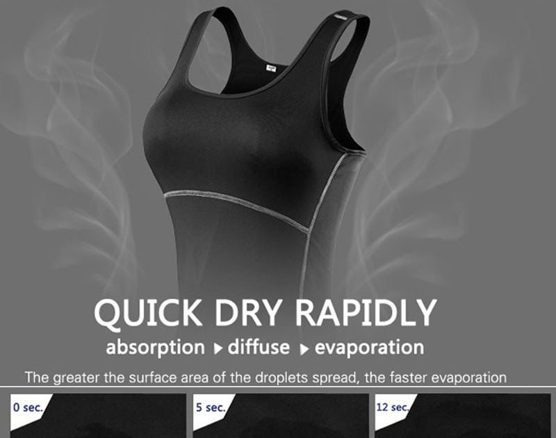 7e242ebe8b1daf Hot Offer New Yoga Tops Women Sexy Gym Sportswear Vest Fitness tight woman  clothing Sleeveless Running shirt Quick Dry White Yoga Tank Top