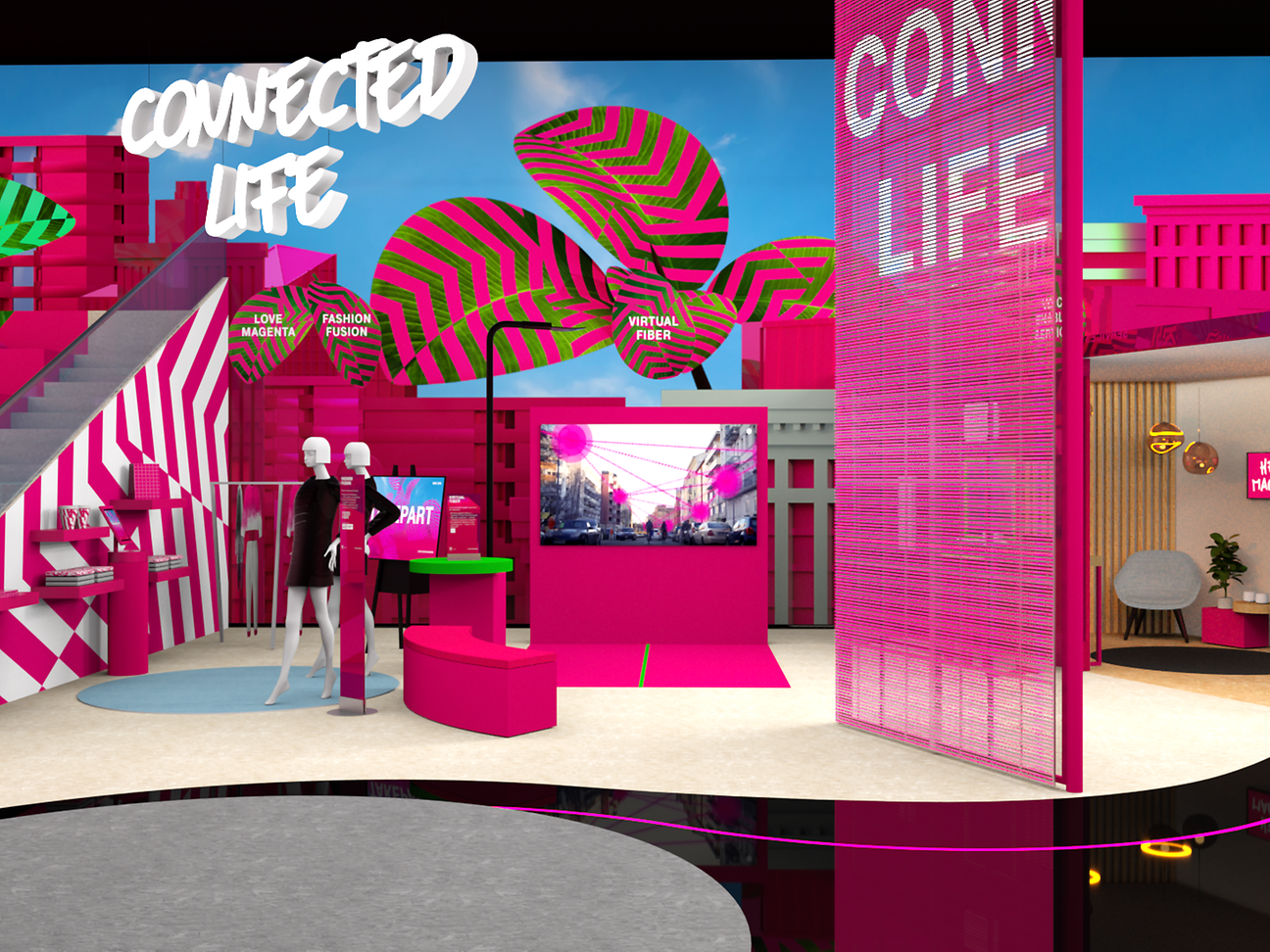 MWC 2019 Deutsche Telekom brings connectivity to life