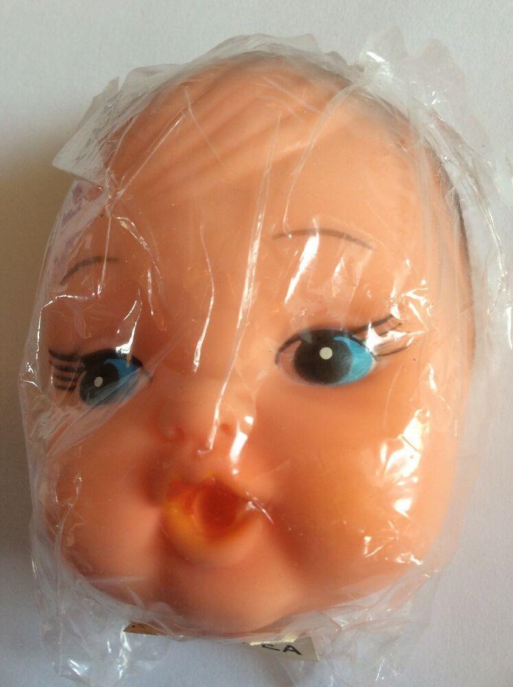 Vtg Zims Flexible Plastic Doll Making Baby Face Hands Bottle In 2020 Plastic Doll Doll Making Doll Face