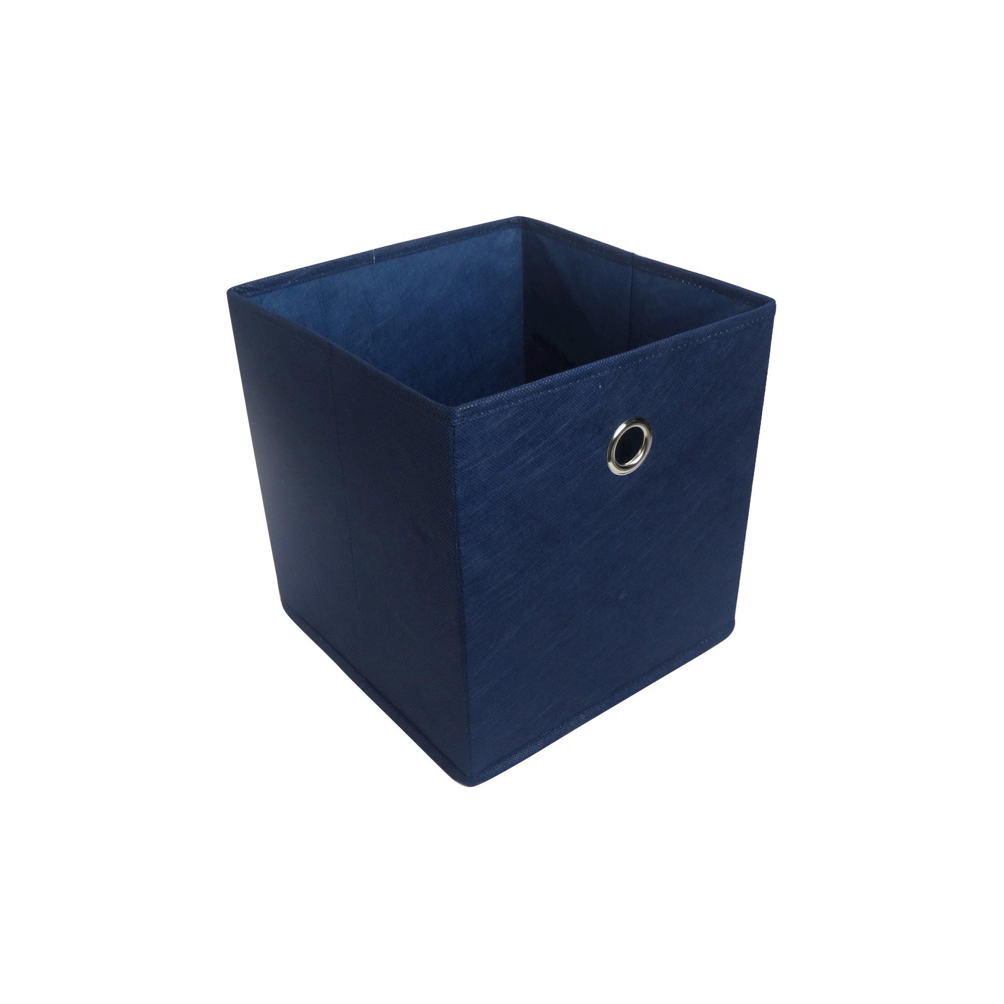 11 Fabric Cube Storage Bin Blue Room Essentials Room Essentials Cube Storage Storage Bins