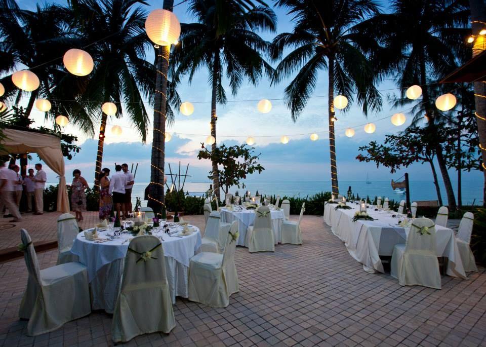 My Wedding Venue Faraway Villa Lipa Noi Beach Koh Samui Reception