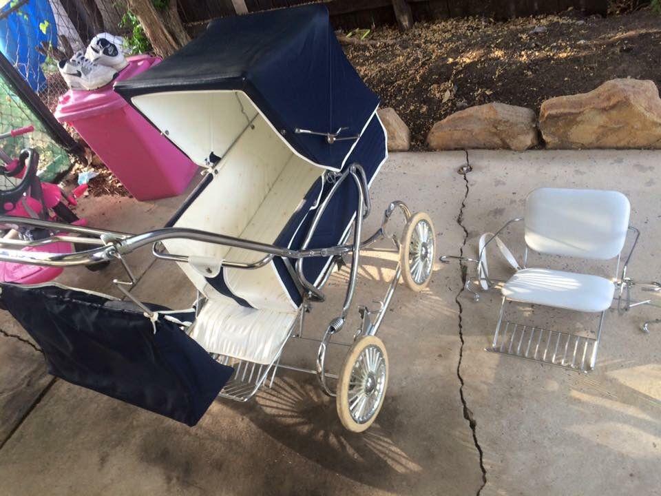 Steel craft 1970s vintage pram Vintage pram, Baby