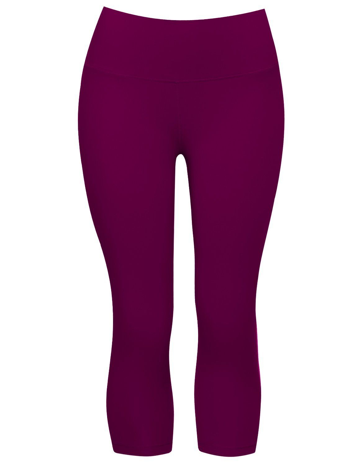a97058025e1a1 19/22/26 Inseam High Compression Yoga Capris Running Capris for Yoga High  Waist Workout Capris Moisture Wicking ** You can find more details by  visiting the ...