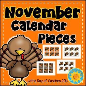 Calendar Numbers November November calendar and Daily calendar