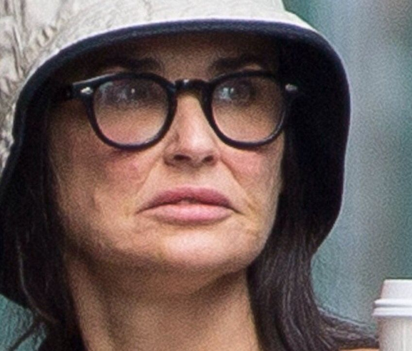 Demi Moore No Airbrush Or Retouch Demi Moore Beauty