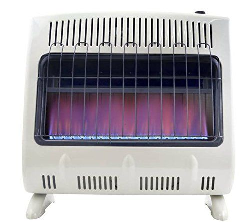 Mr. Heater, Corporation Mr. Heater, 30,000 BTU Vent Free Blue Flame Natural Gas Heater, MHVFB30NGT