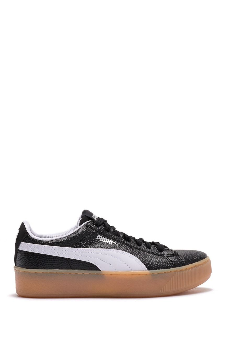 36762892560 Image of PUMA Vikky Platform Leather Sneaker