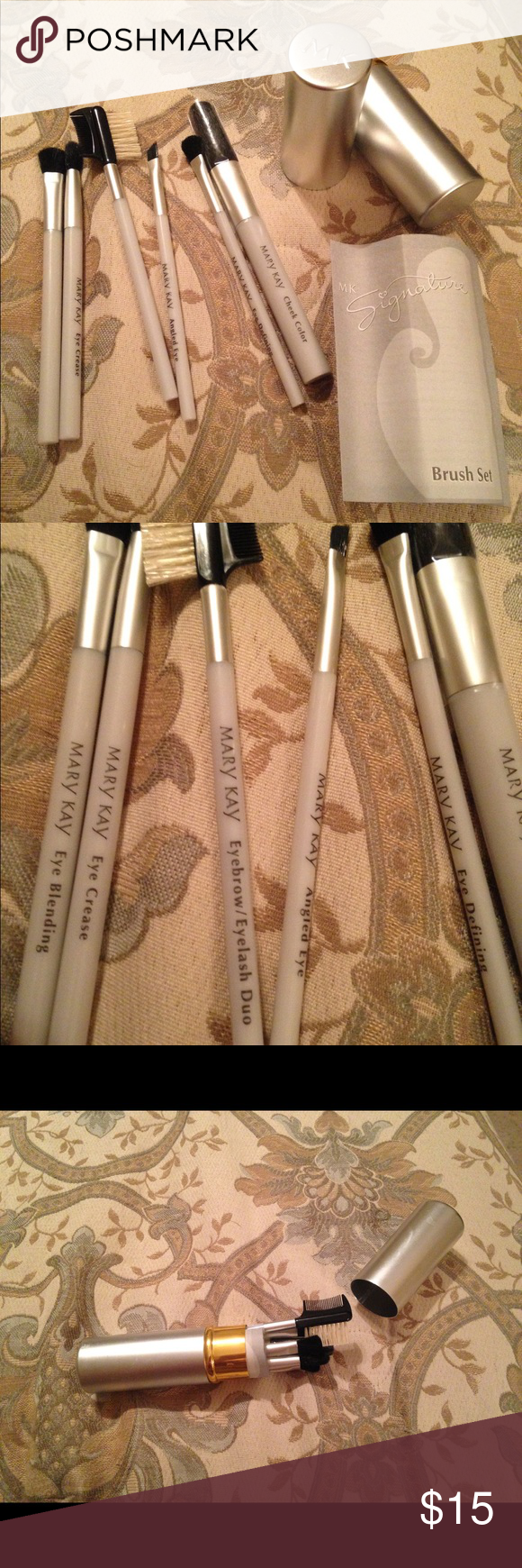 Mary kay signature makeup brush set new final nwt