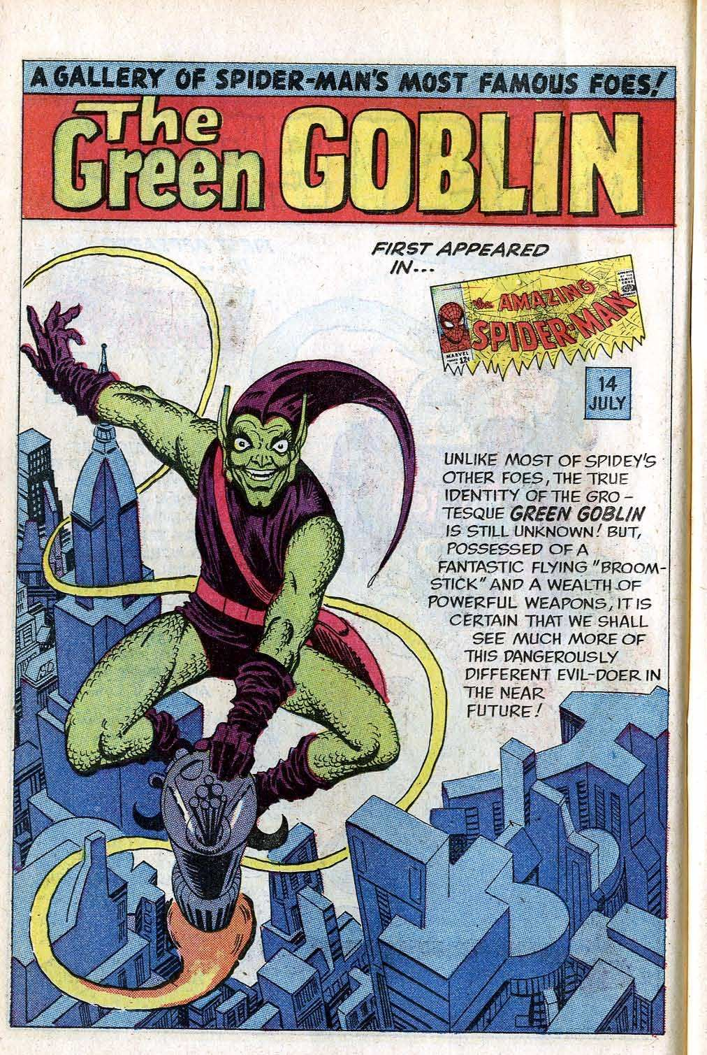The Amazing Spider-Man v1 - Annual 001 (1964) The Green Goblin